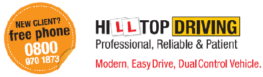 Hilltop driving Lessons logo